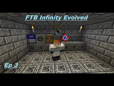 Minecraft FTB Infinity Ep 3 : Power - Speed Mining - Diamond *Minecraft Maroc*
