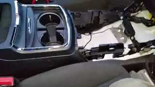 2011 2012 2013 2014 Dodge Charger Police Pursuit Center Console AUX USB Installation / Connections