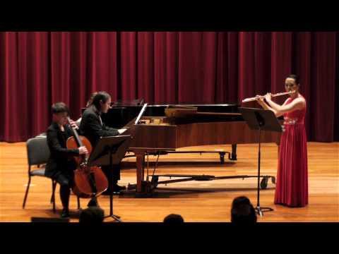 J.S. Bach - Sonata in E Minor for Flute and Continuo, BWV 1034