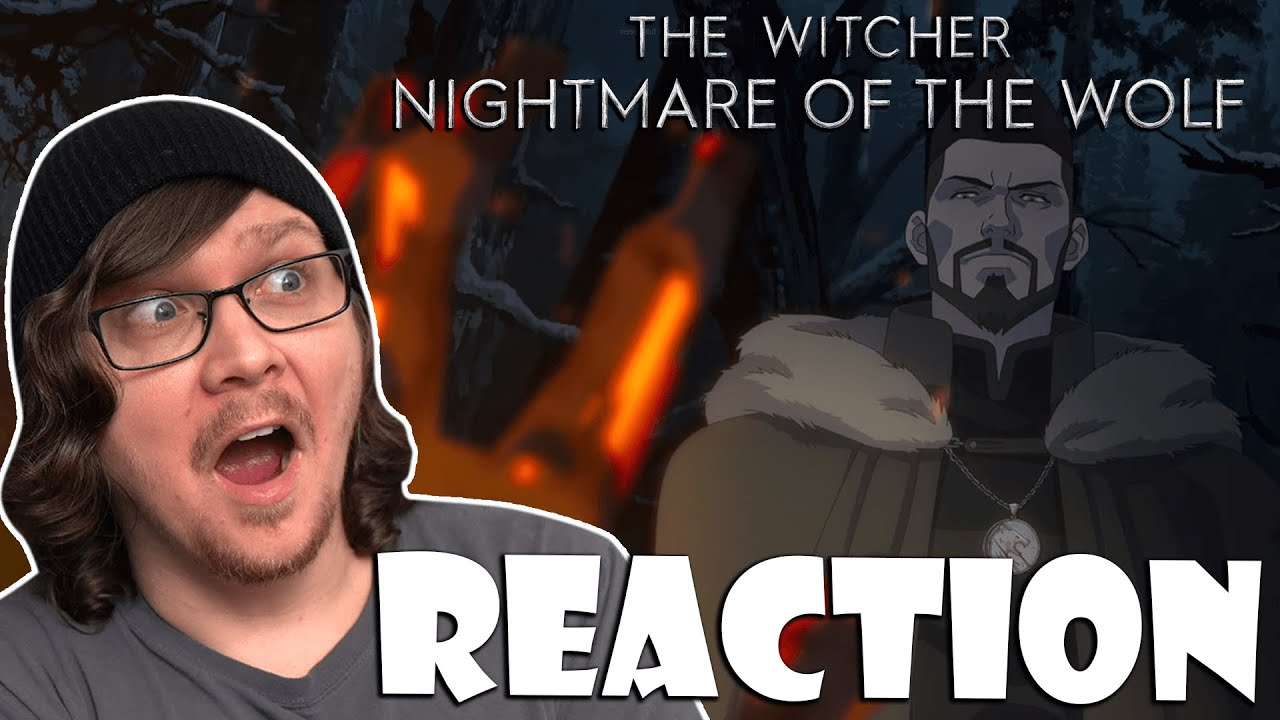 Download THE WITCHER: NIGHTMARE OF THE WOLF - Movie Reaction/Review! Netflix Anime