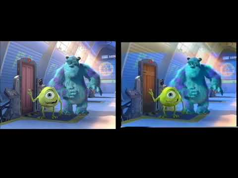 Monsters, Inc. – On the Job with Mike and Sulley Comparison