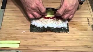 Sushi Maki - Maki Sushi - Cucumber Maki Sushi Roll