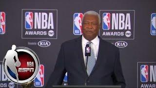 Oscar Robertson press conference after receiving the NBA Lifetime Achievement Award | NBA on ESPN