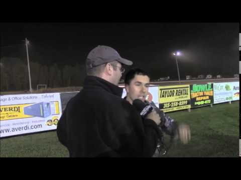 World of Outlaws STP Sprint Car Series Victory Lane from Rolling Wheels Raceway Park
