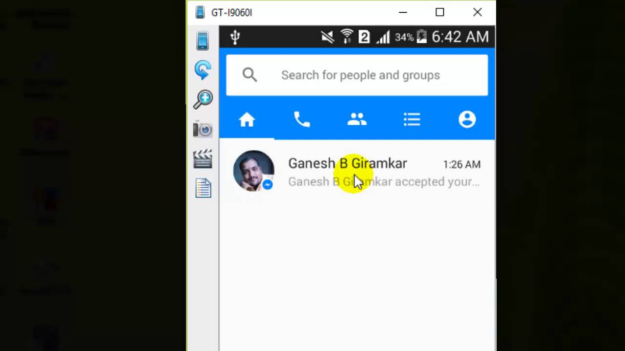 How To Turn On The Chat Heads In Facebook Messenger Android Phone