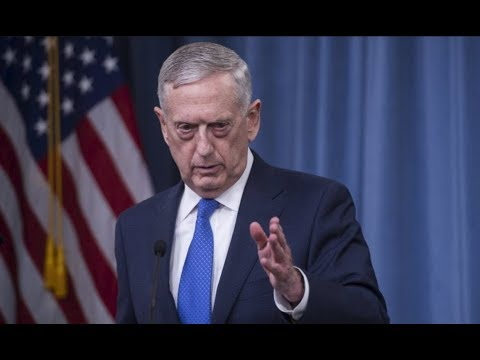 Defense Secretary James Mad Dog Mattis gives URGENT Press Conference
