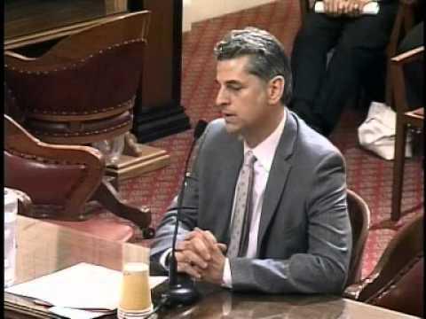 Senate Rules Committee (1 of 2) 8/24/2011
