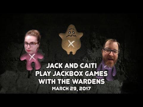 MURDER TRIVIA! Jack & Caiti play Jackbox! (March 29th, 2017)