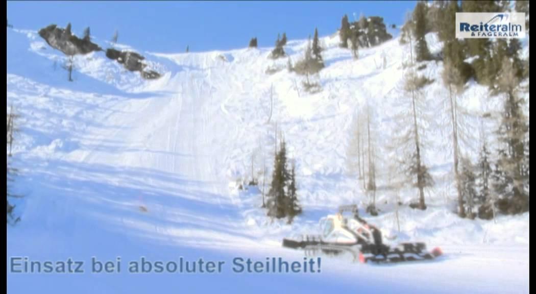 Schladming - Ski amadé - Ski Reiteralm - Pistengeräte ...