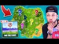 Can YOU guess them ALL    Fortnite  GUESS THAT LOCATION