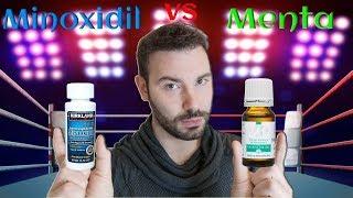 MINOXIDIL vs ACEITE DE MENTA