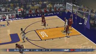 College Hoops 2K7 PlayStation 3 Gameplay - LSU Vs. Alabama
