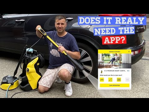 Karcher K5 Premium Pressure Washer Review - Does It Really Need The App & Would I Buy One Again?