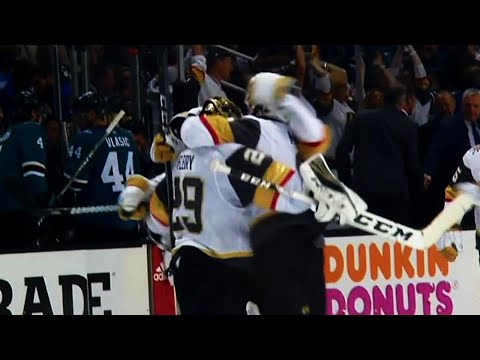 Karlsson snipes OT winner for Golden Knights to take series lead