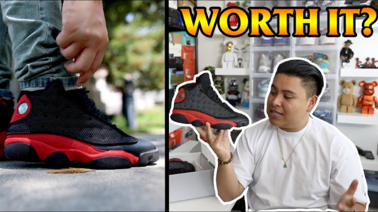 huge selection of 52221 d2933 2017 AIR JORDAN  BRED  13 REVIEW + ON FEET!!! ARE THESE WORTH THE