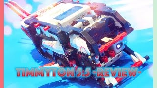 Lego Mindstorms Timmyton 5.5 | Ev3 Motorized Robotic Shark Review