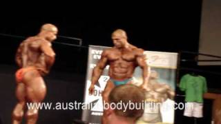 TOP 5 2009 IFBB Australian Grand Prix Bodybuilding