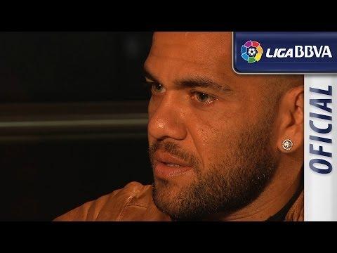 Entrevista | Interview Dani Alves, jugador del FC Barcelona  - HD