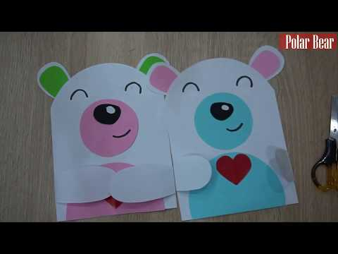 DIY Paper Polar Bear for kids