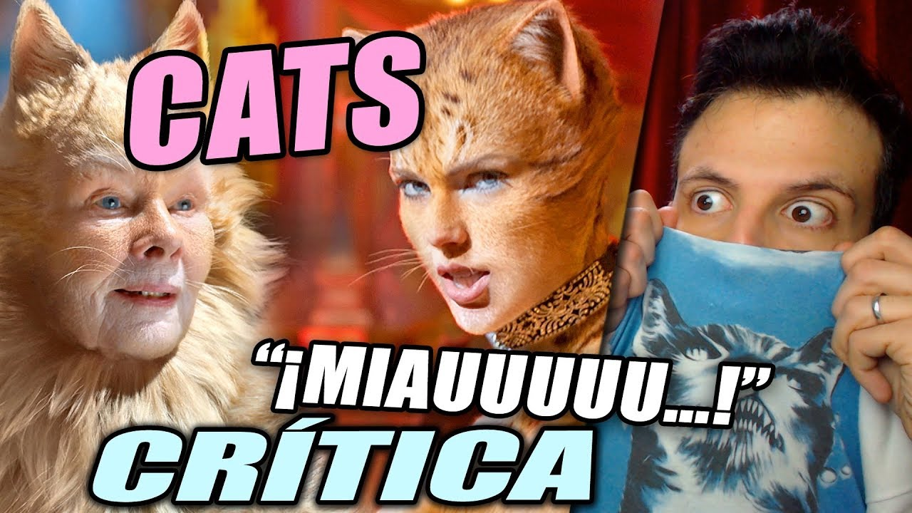 Critica Cats Resena De La Pelicula Musical Gatos Youtube