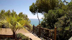 Ocean front villa for sale in Albufeira Central Algarve