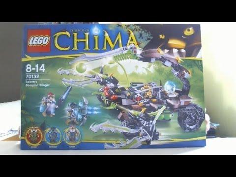 LEGO Live Construction : Legends of Chima's Scorm's Scorpion Stinger (1/2) [Français]