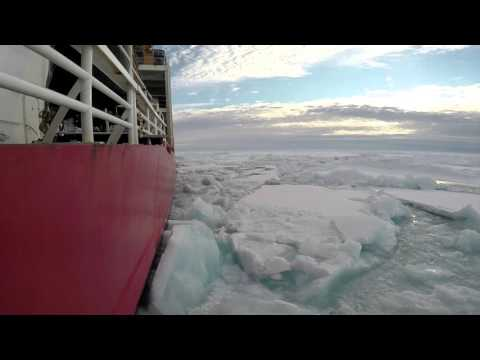 Arctic Ocean Ice Breaking