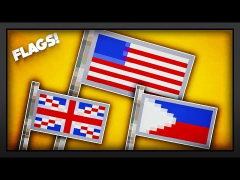 Minecraft - How To Make A Flag