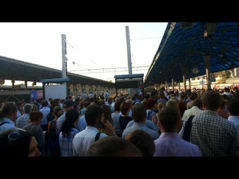 Задержка электричек на ярославском вокзале