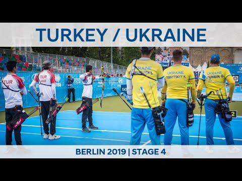 Turkey V Ukraine – Recurve Men's Team Gold | Berlin 2019 World Cup S4