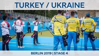 Turkey v Ukraine recurve men 39 s team gold Berlin 2019 World Cup S4