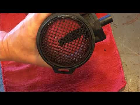 MAF (Mass Air Flow sensor) and Throttle Body Cleaning