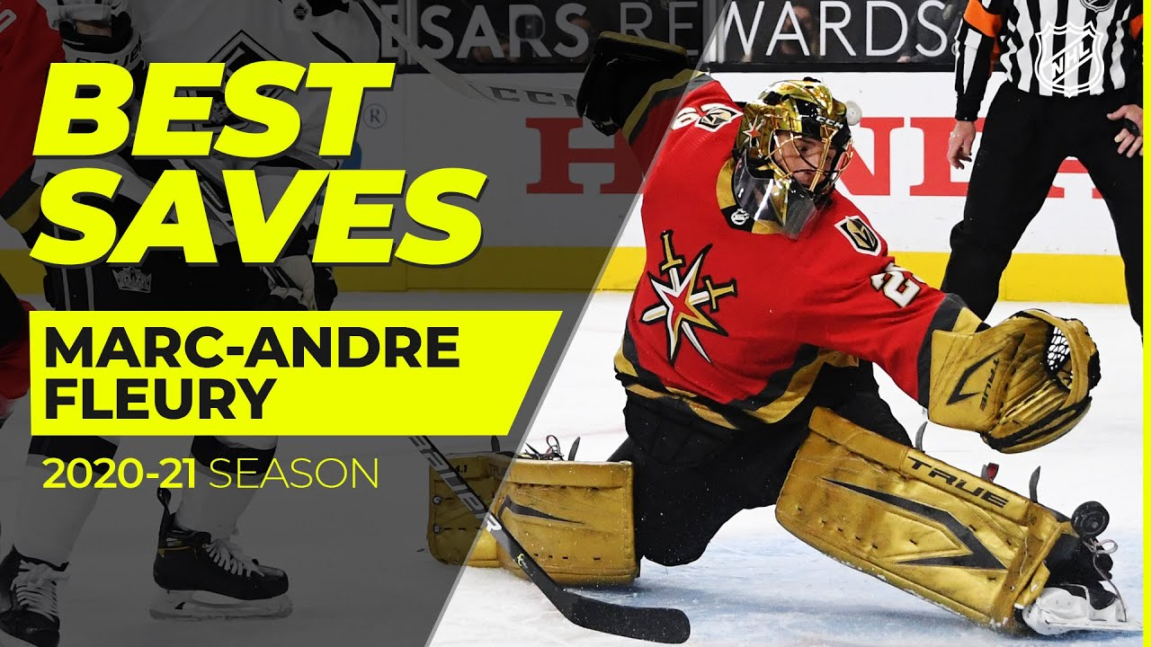 Best Marc-Andre Fleury Saves from the 2020-21 NHL Season