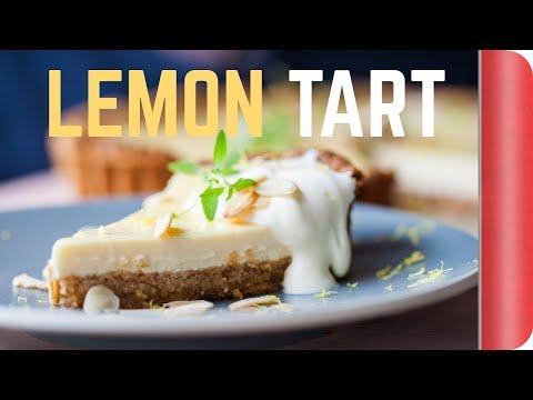 Tangy Lemon Tart Recipe #spon