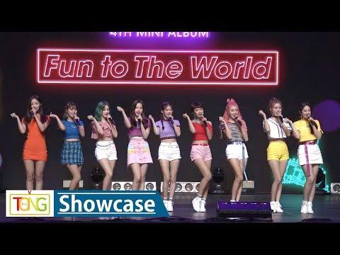 MOMOLAND(모모랜드) 'BAAM'(배앰) Showcase -Greetings- (Fun To The World, Joo E, Nancy)