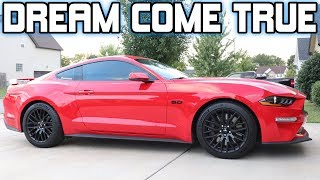 2019 MUSTANG GT Delivery  (THATS RIGHT! I AM BACK)