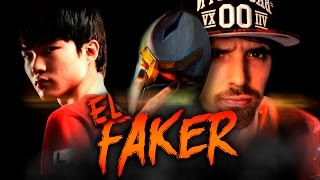 EL FAKER BRONZA | First Time Zed ( League of Legends )