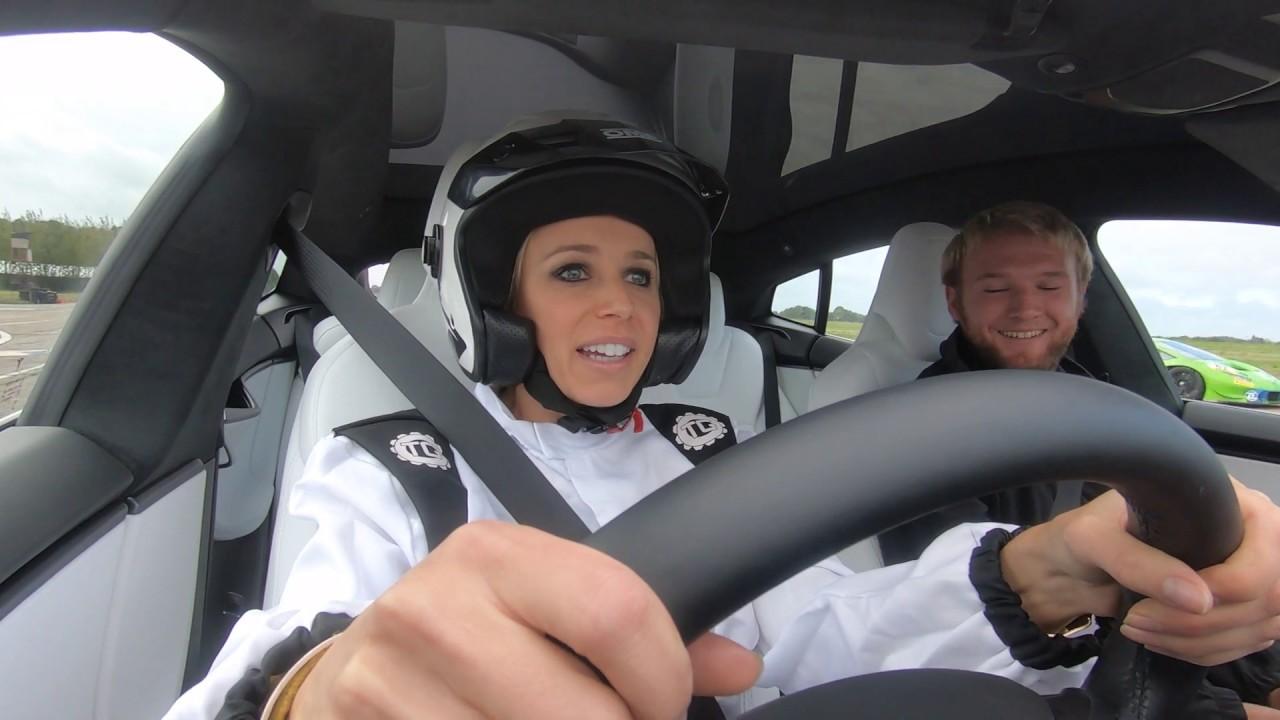 Tesla Model S v Lamborghini Huracan - BBC Click