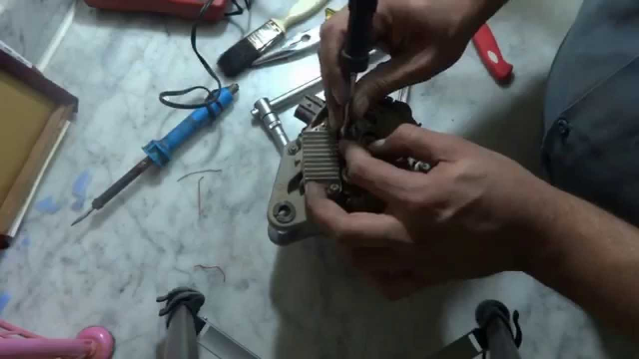 Car alternator repair. Car dynamo repair. - YouTube