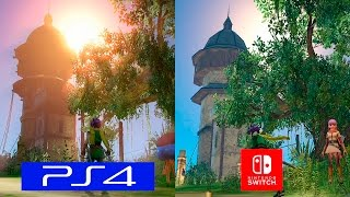 Dragon Quest Heroes | Switch VS PS4 Pro | GRAPHICS COMPARISON | Comparativa