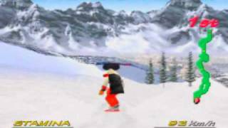 Big Mountain 2000 Game Sample - N64