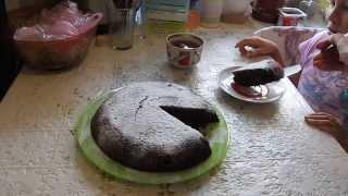 Манник шоколадный - самый лучший рецепт!!!(Очень вкусный шоколадный манник. Просто объедение! По вкусу - бисквит. Смотрите мои видео по темам: Unboxing:..., 2014-10-05T08:23:25.000Z)