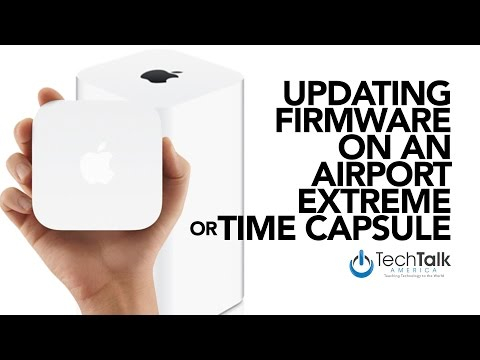 Update Firmware On An Airport Extreme or Time Capsule [HOW