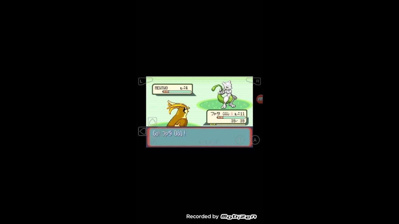 Pokemon sapphire cheats on my boy emulator - YouTube