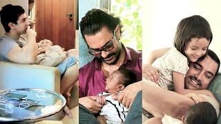 AAMIR KHAN'S Cutest Moments Around KIDS
