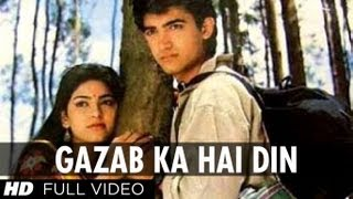 Video Gazab Ka Hai Din [Full HD Song] | Qayamat se Qayamat Tak | Aamir Khan, Juhi Chawla download MP3, 3GP, MP4, WEBM, AVI, FLV Januari 2018