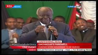 Former President Mwai Kibaki