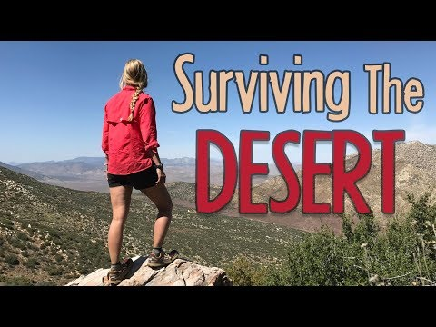 Surviving The Desert on the PCT