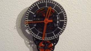 3d Printing A Working Mechanical Clock