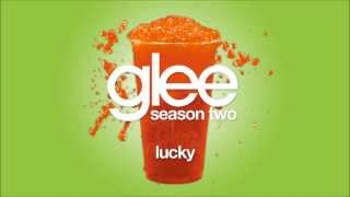 Lucky | Glee [HD FULL STUDIO]